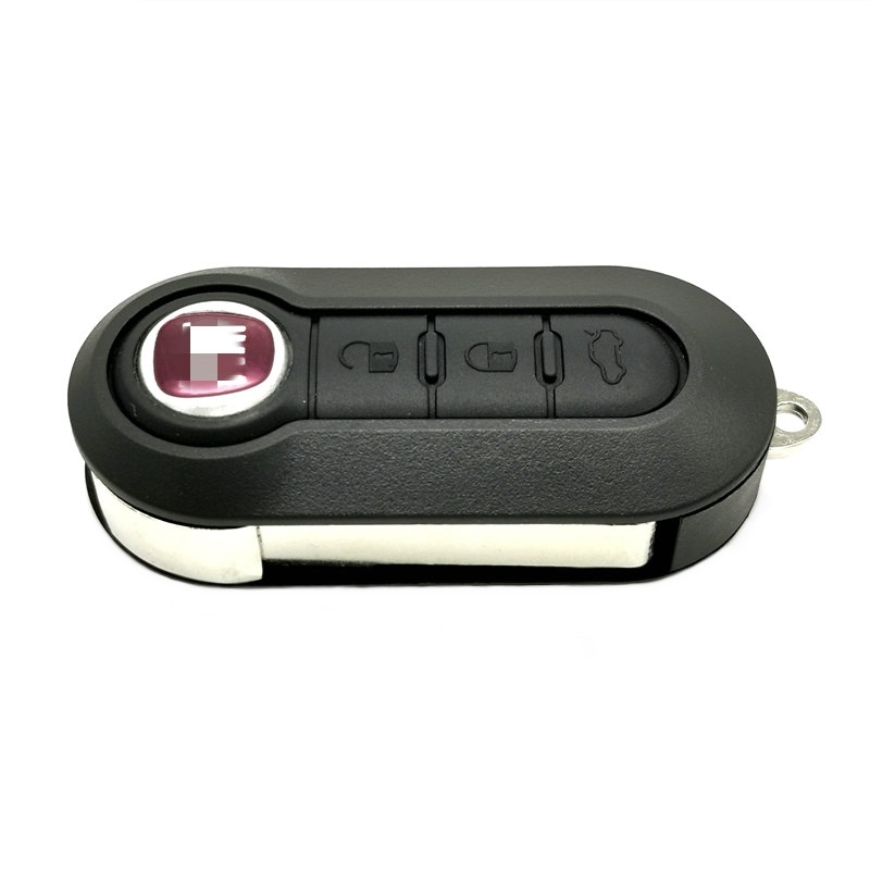 Чехол Datong World корпус автомобильного ключа дистанционного управления для Fiat 500 Panda Punto Bravo Stilo Ducato Citroen Jumper Peugeot Boxer SIP22 Flip Key