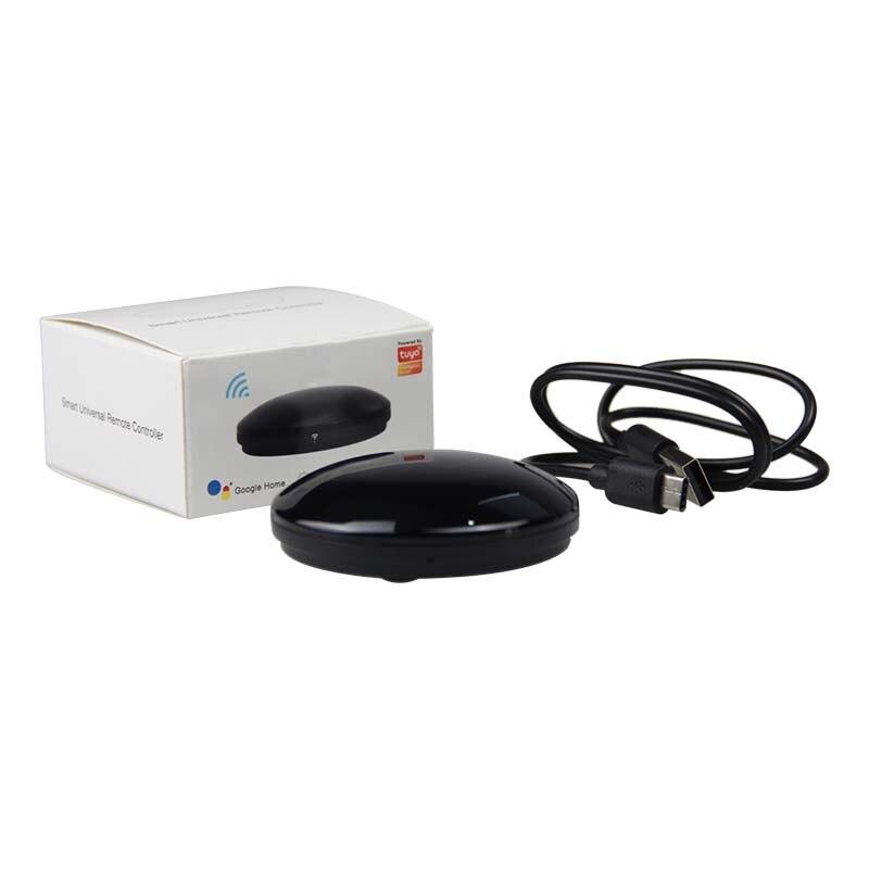 Купить с кэшбэком Universal Wifi Smart IR Remote Control Wireless Infrared Controller Hub WiFi Hub Tuya Smart Life Support Alexa Google Home