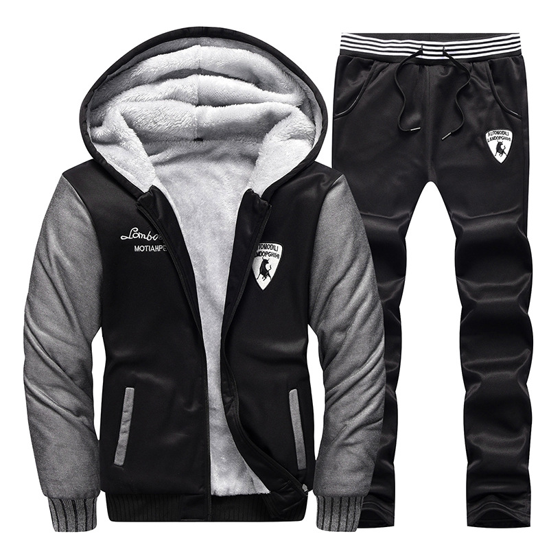 2019 MEN'S Suit Trend Handsome Teenager Hooded Sports Clothing