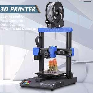 Artylerii Genius 3D drukarki DIY zestaw wysokiej precyzji podwójna oś z Ultra cichy silnik krokowy ekran dotykowy TFT awaria zasilania funkcja