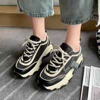 2021 Shoes Women Casual Sneakers Fashion Breathable Flats Female Vulcanized Shoes Sport Platform Sneakers Women Basket Femme 1