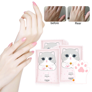 1Pc Cat's Claw Hand Mask Niacinamide Moisturizing Whitening Hand Spa Gloves Exfoliating Dead Skin Remover Hands Skin Care TSLM2