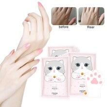 Кошачий коготь маска для рук Niacinamide увлажняющие отбеливающие спа-перчатки для рук отшелушивающие для удаления омертвевшей кожи уход за кож...