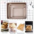 YOMDID Прямоугольная форма для выпекания пирогов Прочный Heavy Сталь печенье противень для выпечки Кухня антипригарный пицца хлеб запеченные ин...