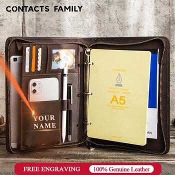 CONTACTS familia bolso de cuero de vaca caso para Samsung Galaxy Tab A 8,0 pulgadas 2019 para Galaxy Tab SM-P200 SM-P205 Tablet Funda