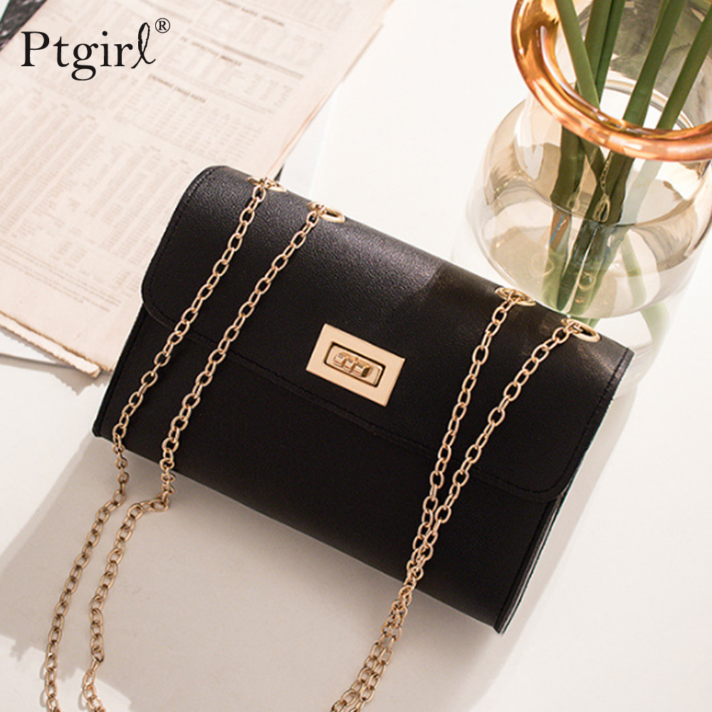 British Fashion Simple Small Square Bag Women's Designer Handbag Ptgirl Luxury Handbags Women Bags Designer High Quality PU Bags