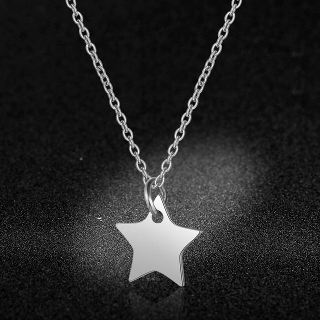 Stainless Steel Star Charm...
