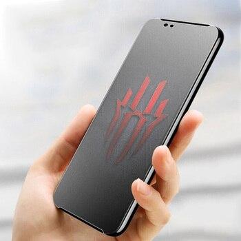 Перейти на Алиэкспресс и купить Матовое матовое Защитное стекло для ZTE Nubia Red Magic 3 3S Mars 5G против следов от пальцев закаленное стекло Защита экрана