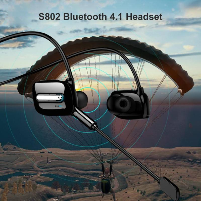 cheapest Wireless Headphones Bluetooth Earphone Neckband Earbuds Game Headset with Mic for PUBG Gaming Use