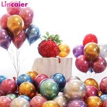 10 Uds 12 pulgadas cromado globo boda decoración Vintage rústico DIY Mesa Baby Shower Babyshower despedida de soltera suministros