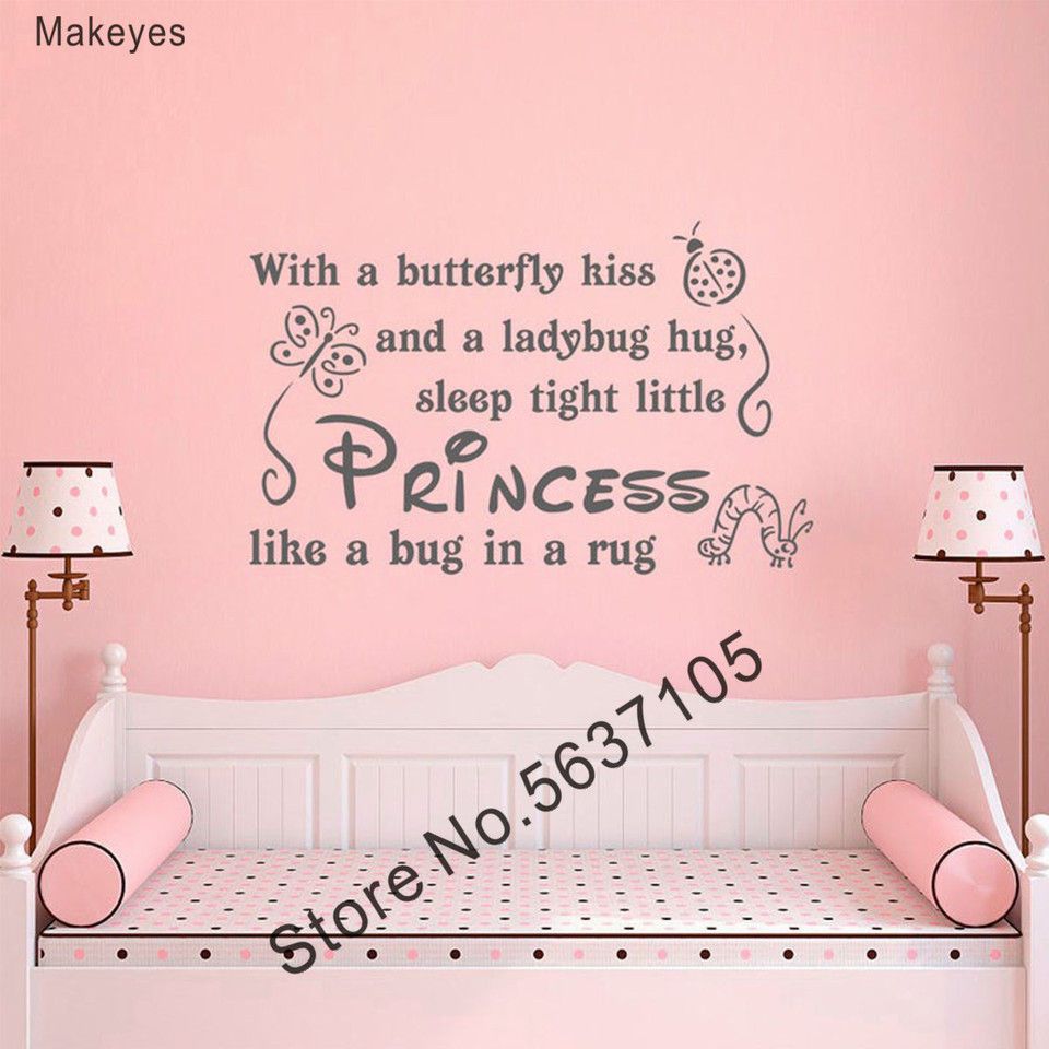 Makeyes S Princess Wall Stickers