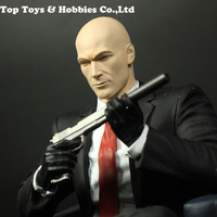ps4 Collectible Dreamer 1:6 Scale Hitman Killer 47 12 Male Action Figure full set with the head suit and gun model and the body