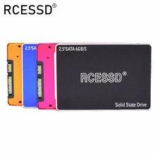 Rcessd ソリッドステートドライブ ssd hdd 2.5 SATA3 ssd 120 ギガバイトの sata iii 240 ギガバイト内蔵 ssd 480 ギガバイトの ssd 960 ギガバイト 7 ミリメートルデスクトップノート pc 用内部 SSD