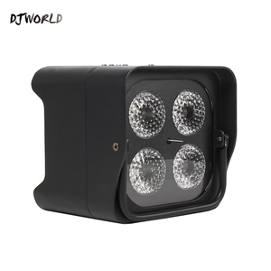 Image 4 - Djworld 4x18 w rgbwa uv led uplight bateria sem fio luz par wifi & ir controle remoto dmx uplighting dj lavagem discoteca casamento palco