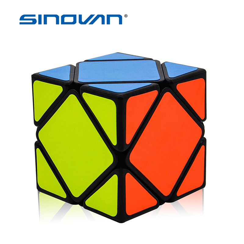 Pandora Skew Cubes Professional Safe ABS Plastic Puzzle Magic Cubes Ultra-Smooth Educational Speed Puzzle Cubes Kids Toys Gift