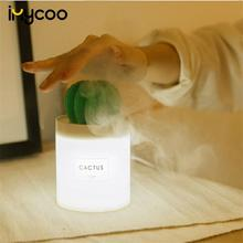 280ML Usb Interface Cactus Essential Oil Aroma Diffuser Ultrasonic Air Humidifier Aromatherapy Sprayer Car Humidifier Purifier цена и фото