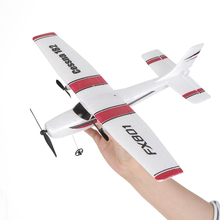 FX801 RC Plane Cessna 182 2.4GHz 2CH RC Airplane Durable 20 Minutes Flying Time Outdoor RC Aircraft Model Toys for Beginner