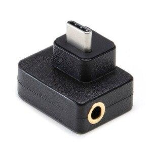 Image 2 - Cynova DJI Osmo Hành Động Micro Adapter 3.5 Mm/USB C Âm Thanh Bên Ngoài 3.5 Mm Mic Ốp Cho TRS Cắm DJI osmo Hành Động Phụ Kiện