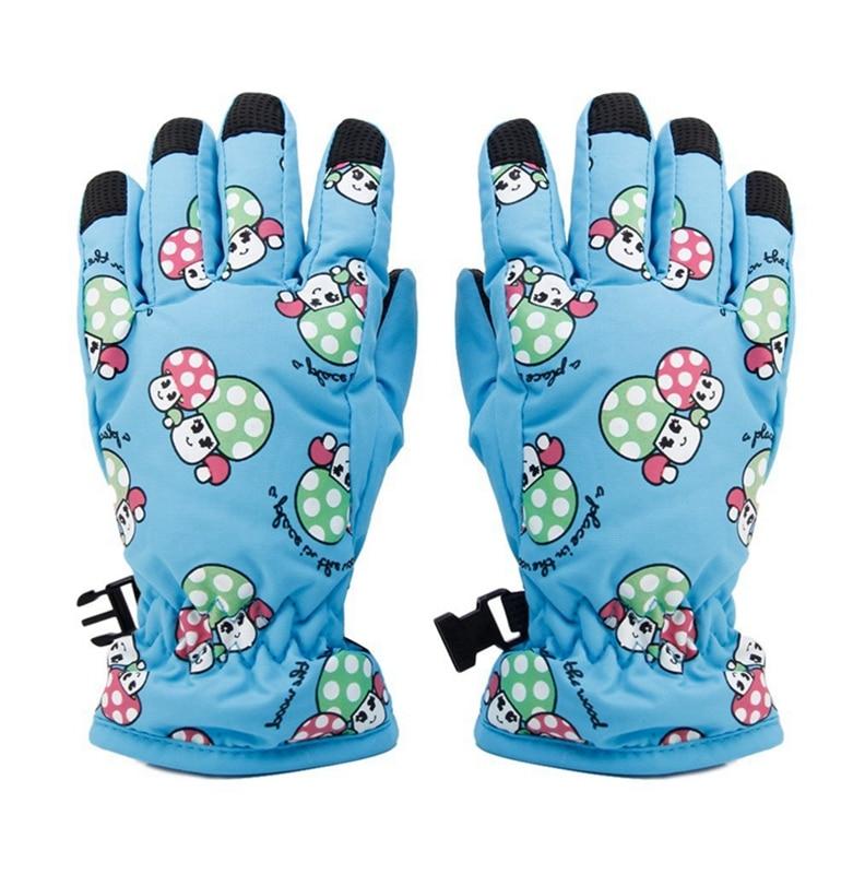 Non-slip, For 2-4 Year Old Children, Ski Skate Gloves