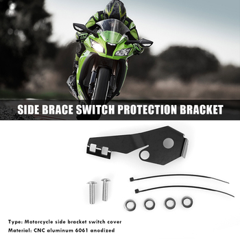 Aluminum Sidestand Guard Protector Cover Outdoor Parts Personal Car Accessories for BMW R1200GS LC / Adventure 14-17 image