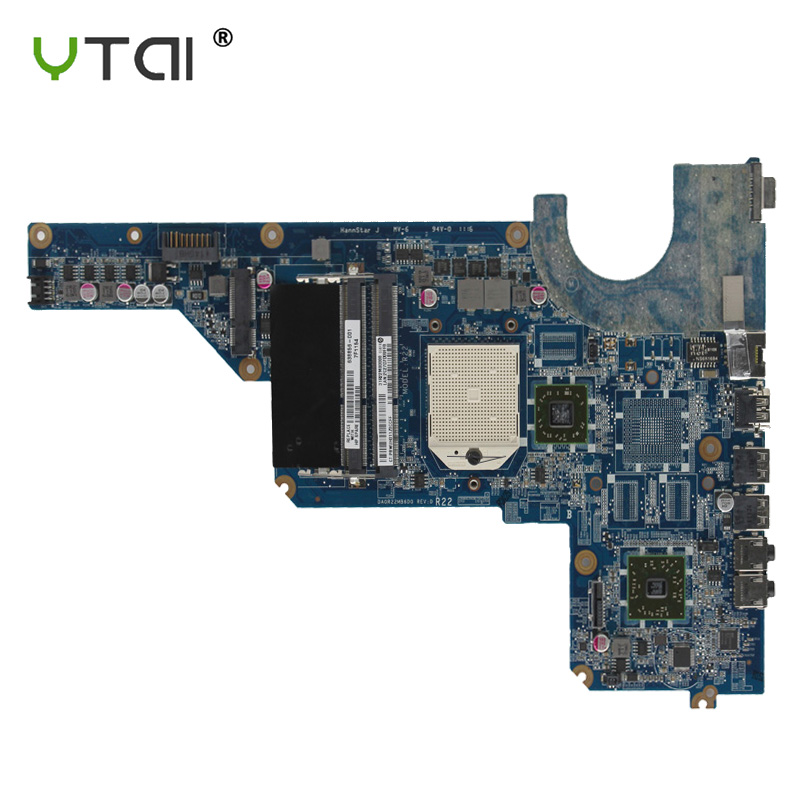 DA0R22MB6D0 Motherboard For Hp Pavilion G6 G4 G7-1000  Laptop Motherboard DDR3 638856-001 100% Tested Intact