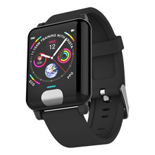 E04 Smart Watches ECG PPG Heart Rate Blood Pressure Monitor Fitness Tracker Smartband For IOS Android Watch Smart Clock lige ecg ppg smart watch men heart rate monitor blood pressure smartwatch ecg display sleep fitness tracker bracelet android ios