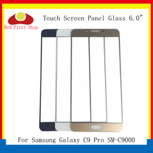 10Pcs/lot Touch Screen For Samsung Galaxy C9 Pro Touch Panel Front Outer Glass Lens C9 Pro C9000 LCD Glass Touchscreen цены