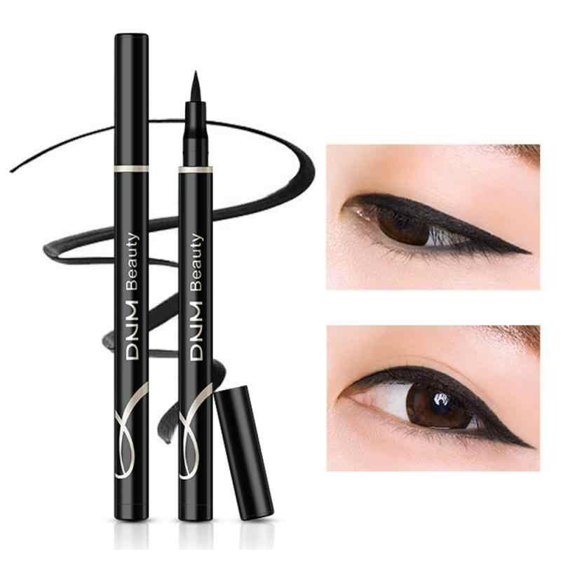 1 Pcs Black Eye Liner Bleistift Wasserdicht Nicht-blühende Highlight Eyeliner Stift Schönheit Kosmetische Werkzeug TSLM1