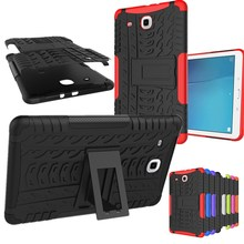 """Для Galaxy Tab Amor сверхпрочный силиконовый Жесткий ПК противоударный чехол-подставка для планшета samsung Galaxy Tab E 9,6 T560 T561 9,6"""""""