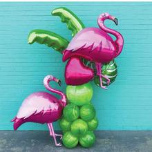 1 шт. Белый лебедь Фламинго пончик шар на день рождения украшения для вечеринки Baby Shower животные кокосовый кактус воздушные шары