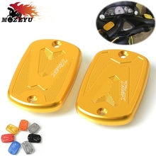 Motorcycle CNC front Brake Fluid Reservoir Tank Cap Cover For Yamaha Tmax 530 T-MAX530 2012-2015 Tmax 500 T-MAX500 2008-2011 cnc adjustable motorcycle brake clutch levers for yamaha tmax 500 tmax 530 t max500 t max530 t max 500 530