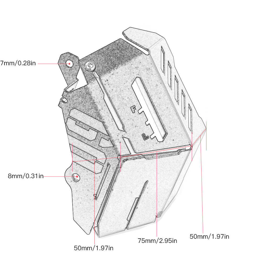 MT-09 для Yamaha MT-09 FZ-09 MT FZ 09 MT09 FZ 09 2014 2015 2016 2017 радиатор защита охлаждающей жидкости бак для восстановления Защитная крышка двигателя