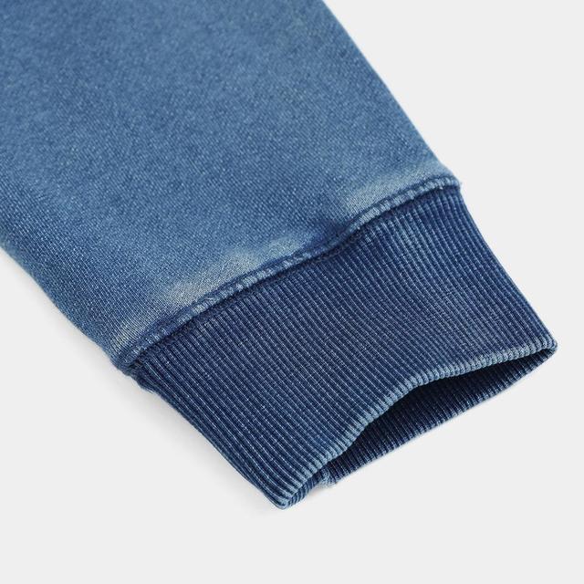 Vintage Sweatshirt with Raglan sleeves in blue