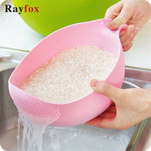 Kitchen Gadgets Strainer Cooking-Tools FILTER-CLEANING Fruit Bowl Vegetable Washing Plastic