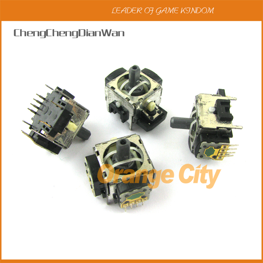 ChengChengDianWan 30pcs/lot  Original Used 4pin 3D Handle Joystick 3D Analog Joystick For Playstation 3 PS3 Controller