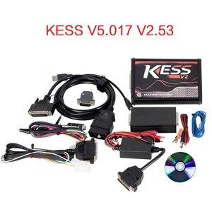 Image 5 - EU Red KESS V5.017 V2.53 마스터 ktag V7.020 V2.25 4LED 관리자 터닝 키트 No Token Reading Limited KESS V2.47 ECU 프로그래머