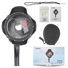 Duiken Dome Poort Waterdicht Case Filter Schakelbare Dome voor GoPro Hero 7 6 5 Zwart Trigger Behuizing voor Go Pro 7 accessoire