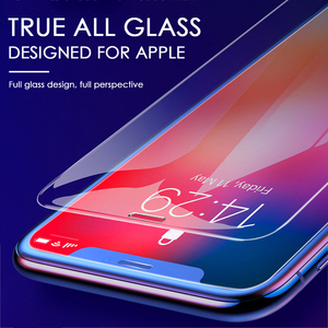 Image 2 - 3Pcs Full Cover Glass on the For iPhone 11 pro X XS Max Tempered Glass For iPhone 11 Pro MAX 7 8 6 6s Plus Screen Protector Film