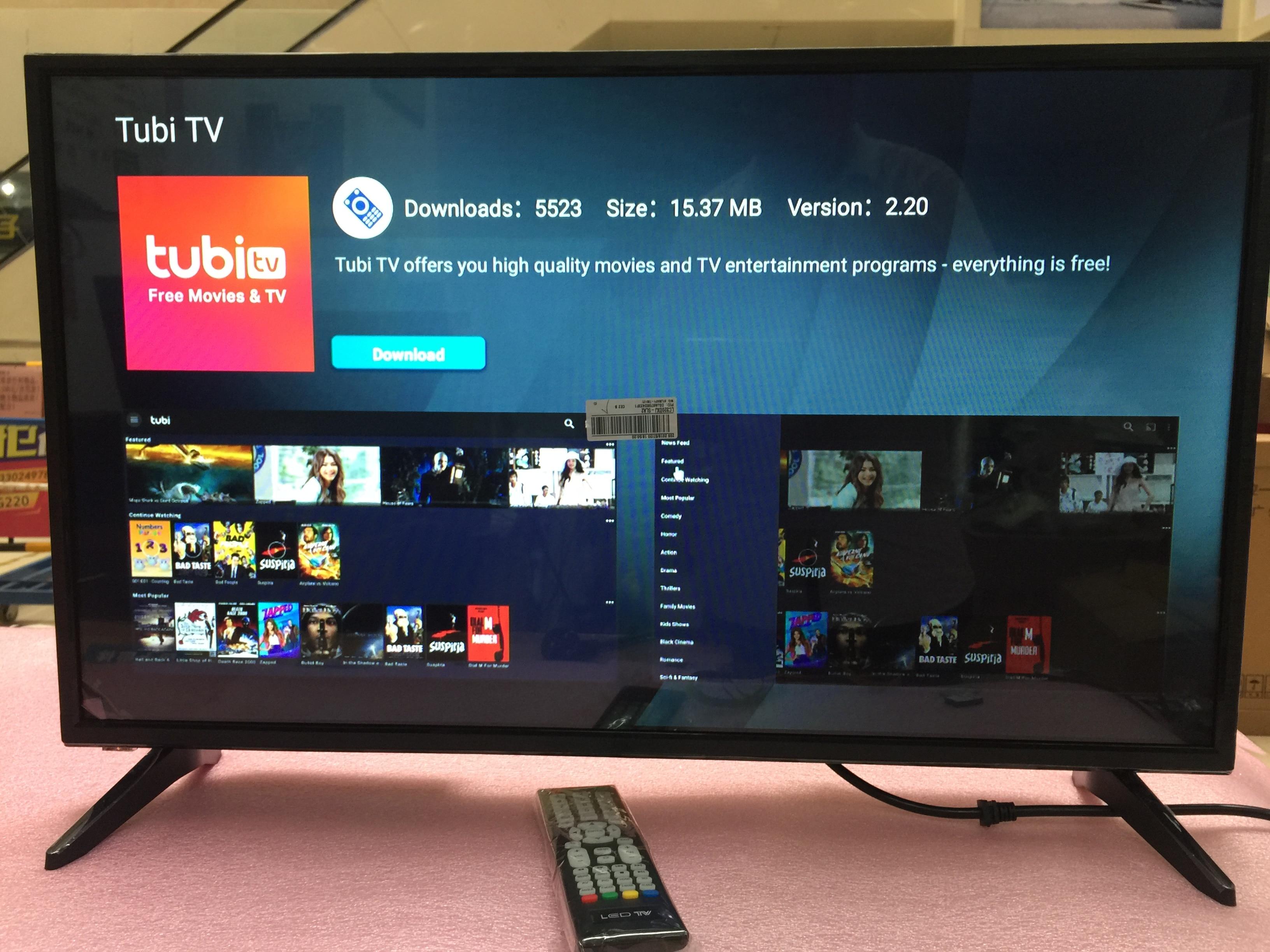 Monitor hd 32 polegadas + wifi smart android 7.1.1 ram 1gb rom 4gb internet led tv