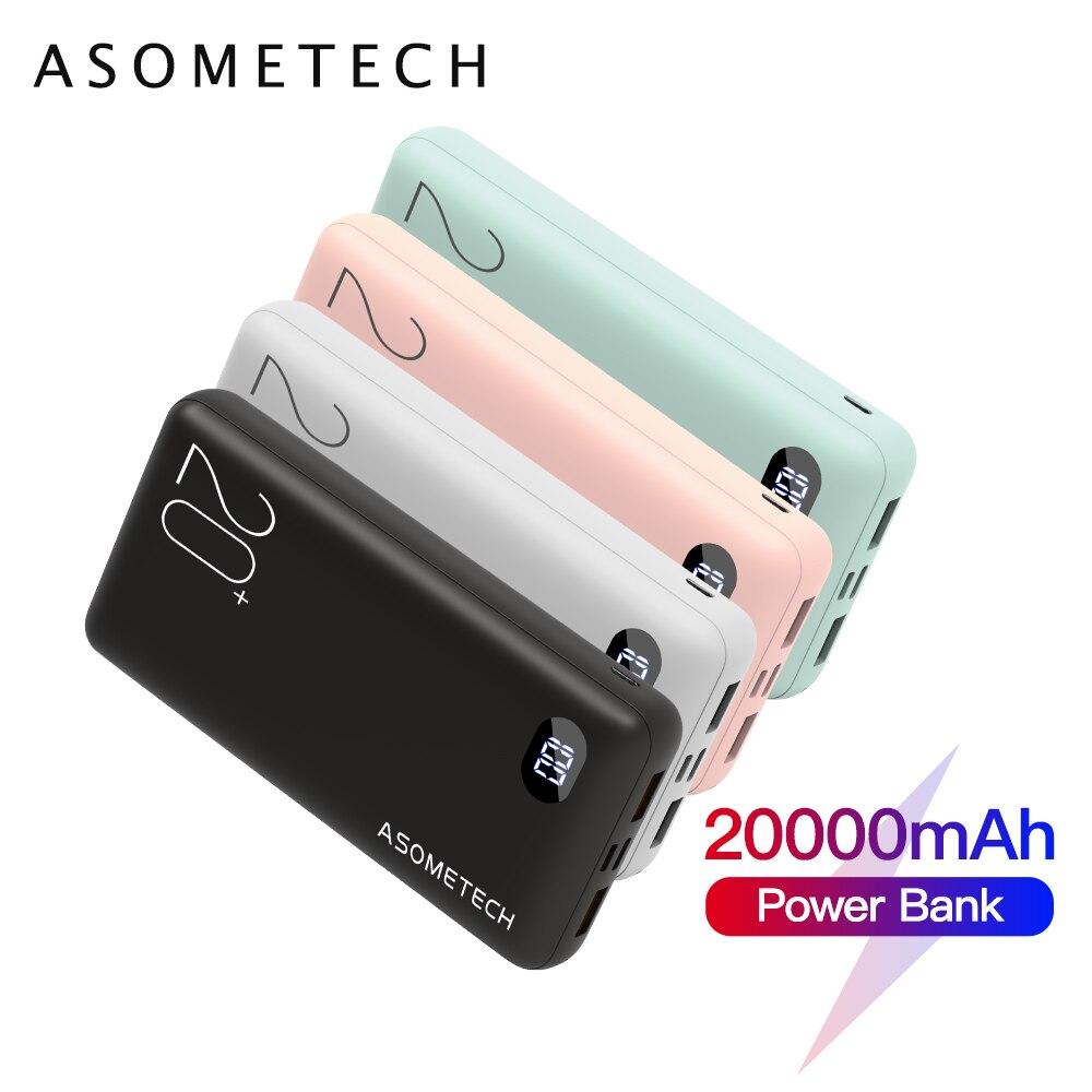 Power Bank, 20000 mAh, 20000 mAh, chargeur de batterie externe Portable pour téléphone Portable, pour Xiaomi iPhone 12