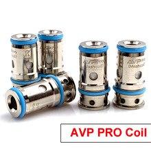Runvape avp pro bobina de malha 0.65ohm 1.15ohm regular ka1 af substituição vape cabeça para avp pro pod kit e cigarro