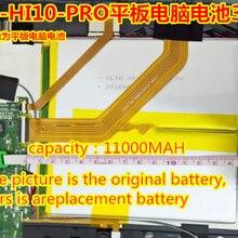 Запасная батарея для CHUWI hi10pro HI10 PRO Tablet PC Батарея 2 провода сварки 3,7 V 11000mah