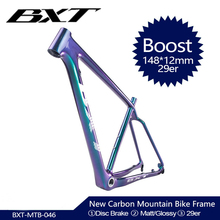 2020 NEW 29er Full Carbon BOOST frame 148*12mm MTB carbon bicycle frame Mountain Bike Frame used for racing bike cycling Parts