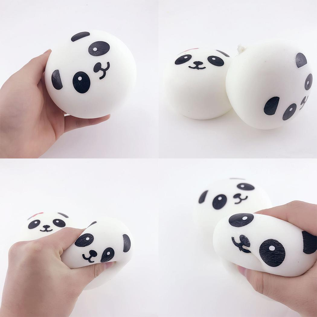 Soft Panda Animal Slow Rising Cream Scented Squeeze Toys Stress Relief Hand Rising After You Squeeze It. Toys