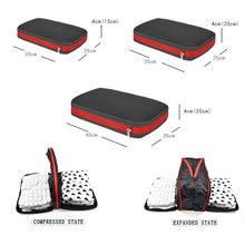 Nylon Women Men Travel Bag Organizer Large Capacity Foldable Travel Bag Compression Packing Cubes Travel Luggage Organizer недорого