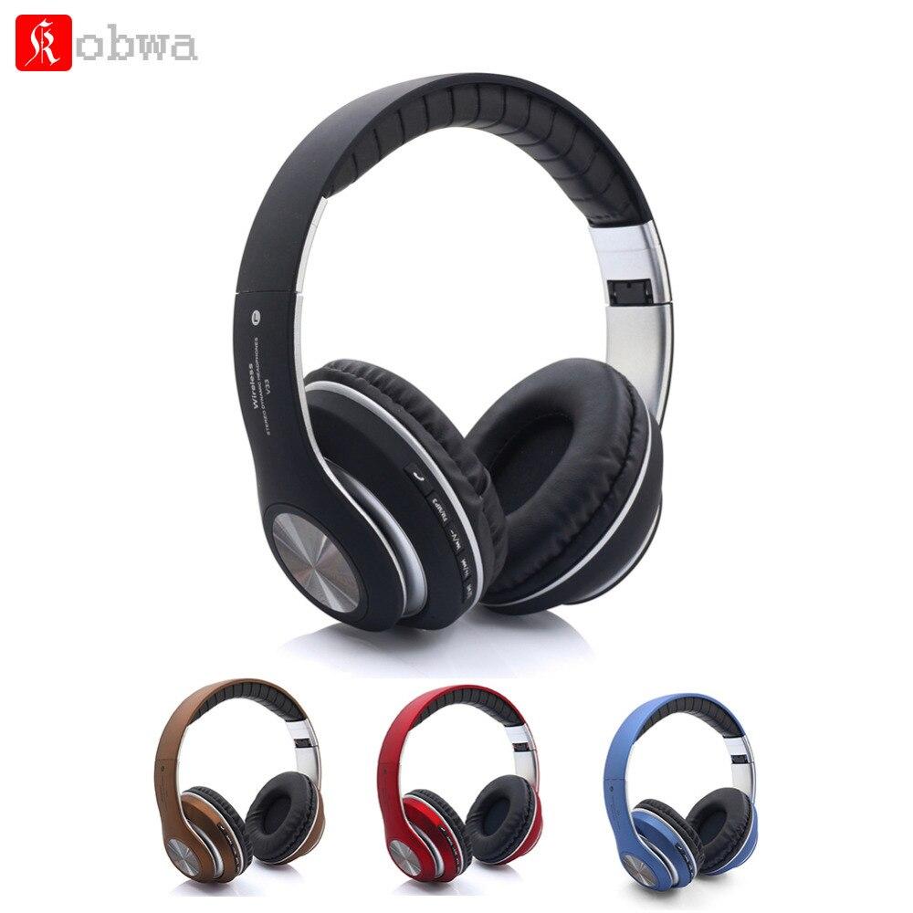 Składane słuchawki Bluetooth głowy do montażu na ścianie z