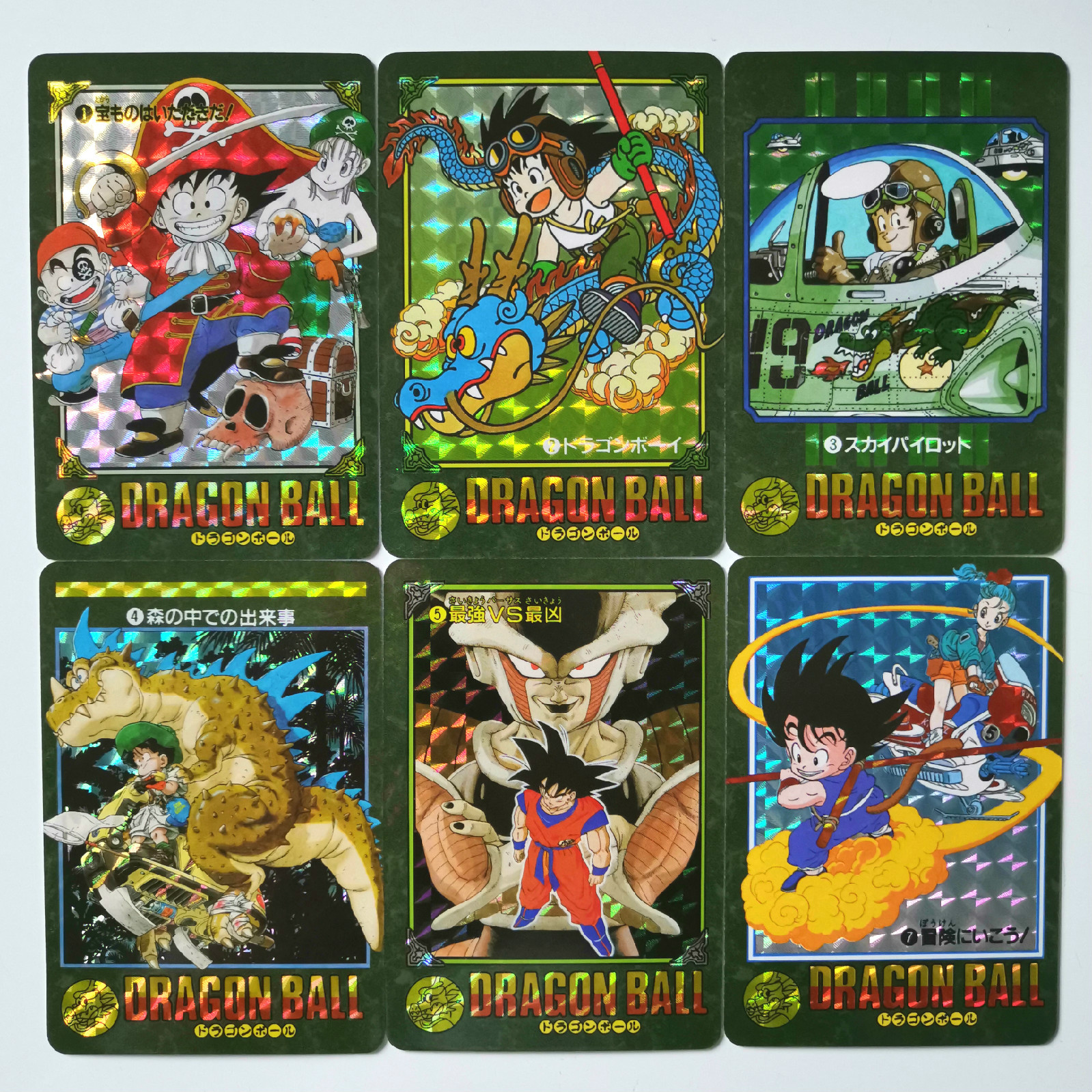 42pcs/set Super Dragon Ball Z Replica Storm Clouds Heroes Battle Card Ultra Instinct Goku Vegeta Game Collection Cards