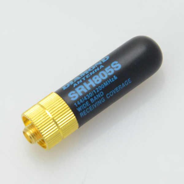 Hot 3C-5PCS/Lot Dual Band Uhf + Vhf SRH805S Sma Female Antenne Voor Baofeng Uv-5r BF-888s Uv-82 UV-5RA Uv-5re TK3107 2107 10W 144/4