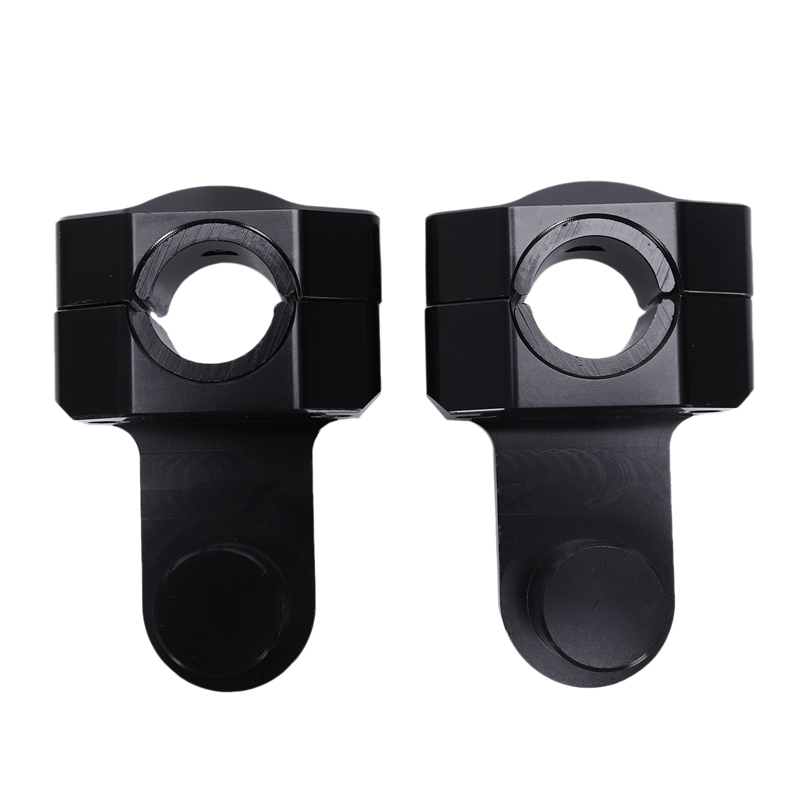 Motorcycle 28Mm 1 1/8 inch Pivoting Handlebar Riser Handle Bar Clamps for 690 990 Adventure Triumph Tiger 800 1200 XT1200Z(Black|Handlebar| |  - title=