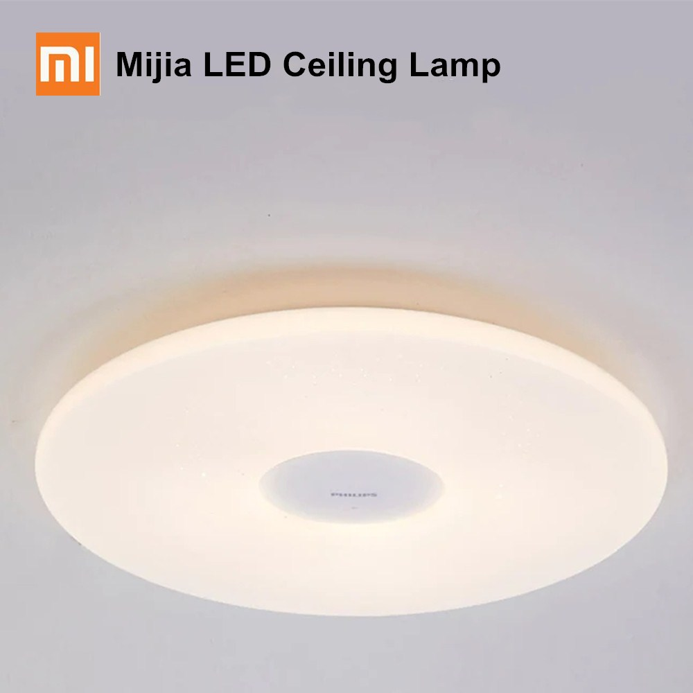 Xiaomi Mijia Ceiling Lights Philips LED Ceiling Lamp Dust Resistance App Wireless Dimming AC 100 240V